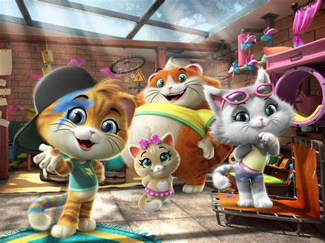 ble preview rainbows winx club  cats  scps