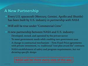 Commercial Spaceflight and NASA, Bretton Alexander ...