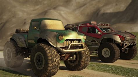 Monster Trucks Racing Mobile Game Trailer Android For Free