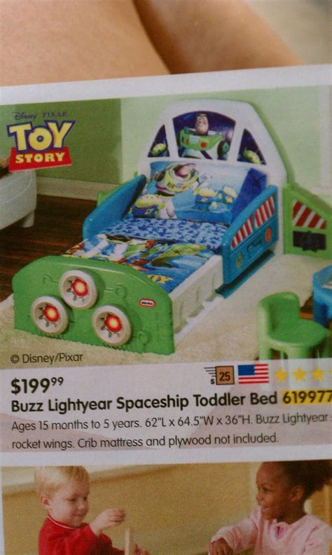 buzz lightyear spaceship toddler bed wants needs and