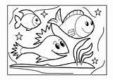 Aquarium Coloring Fish Pages Tank Preschool Drawing Printable Animal Kindergarten Preschoolcrafts Pa Toddlers Getdrawings Getcolorings Cartoon Clipart Worksheets Animals Outline sketch template