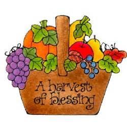 Harvest Blessings Clip Art