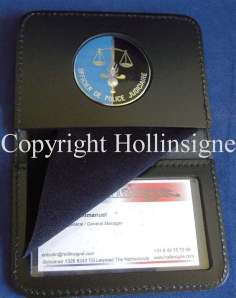 porte carte pour gendarmerie nationale hollinsigne
