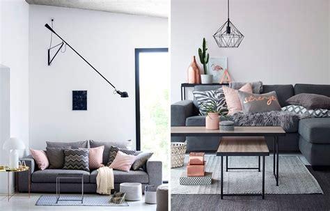 deco salon avec canape gris la fabrique à déco associer les couleurs dans la déco