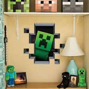 shop minecraft wall decals on wanelo
