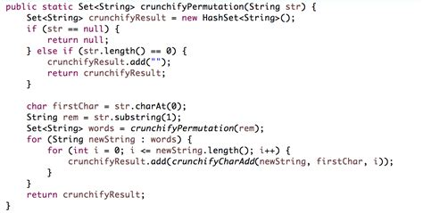 java string template how to find all permutations of a string in java exle crunchify