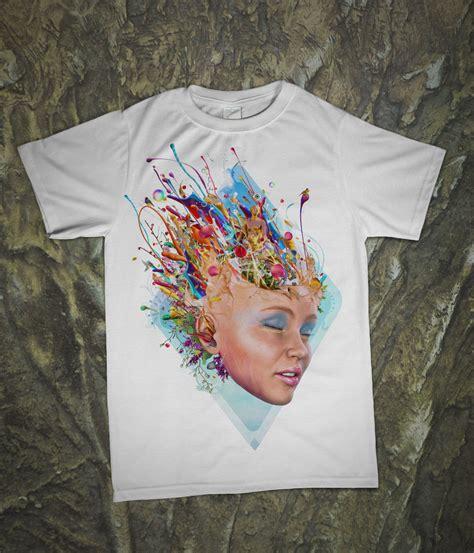 surreal art  shirts apparel  illustrations  mario