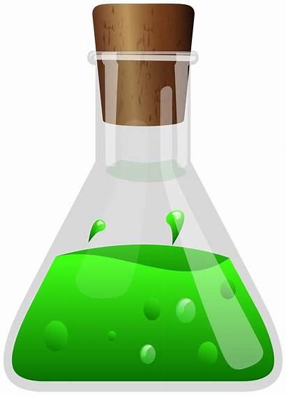 Potion Poison Clipart Transparent Clip Lab Halloween