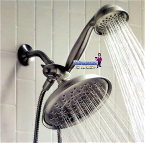 Moen Rain Shower Head Brushed Nickel by New Moen Bathroom Combo 9 Quot Rain Shower Amp Handheld Spray Ebay