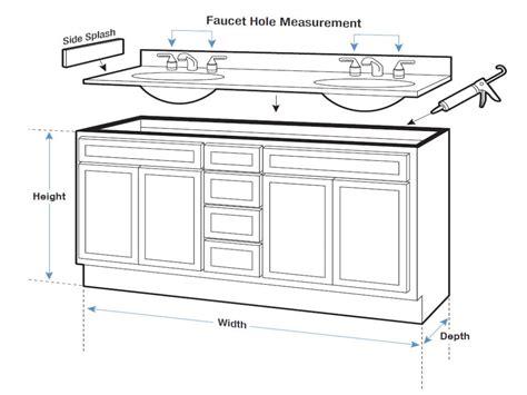standard bathroom cabinet height bathroom vanity tops with sink bathroom vanity dimensions