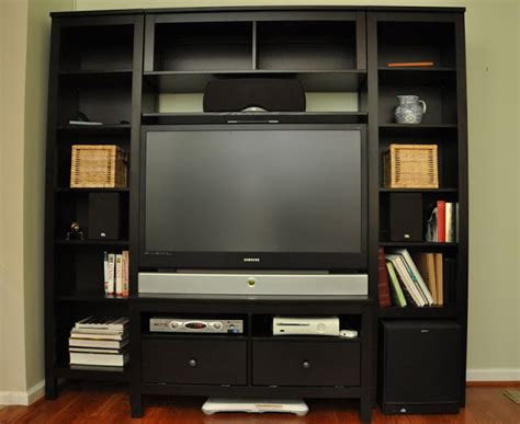 custom hemnes entertainment center ikea hackers ikea hackers