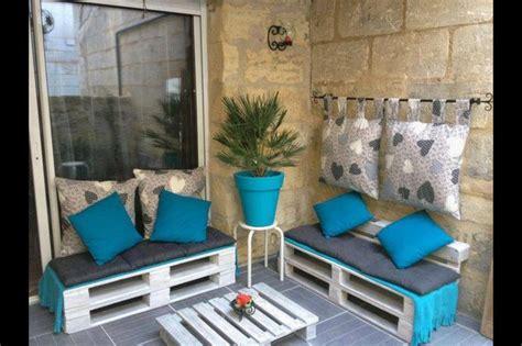 id 233 e deco terrasse avec des palettes d 233 co ext 233 rieure outdoor pallet furniture