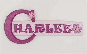 charlee 82 wooden wall door letter alphabet personalized With photo letter name signs