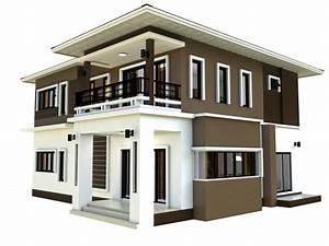 Maison Moderne Design 3d