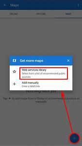 Manual User Guide Maps Wms   Locus Map