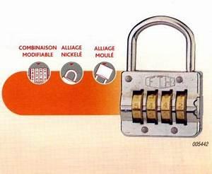 Comment Fermer Un Cadenas A Code 3 Chiffres : cadenas code 4 chiffres marque thirard destockage ~ Dailycaller-alerts.com Idées de Décoration