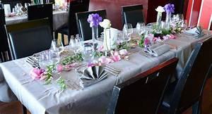 Deco Table Anniversaire Femme : deco table anniversaire 60 ans femme ~ Melissatoandfro.com Idées de Décoration