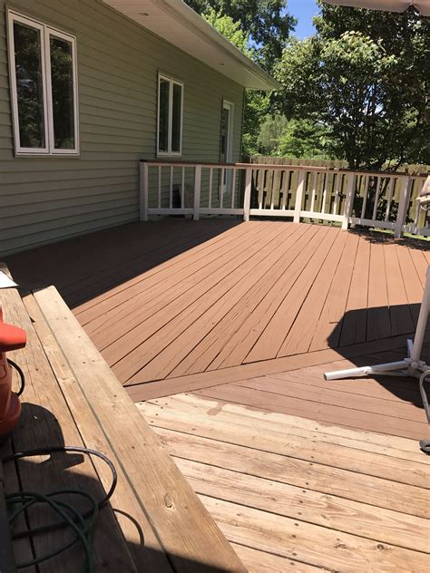sherwin williams pine cone solid superdeck with navajo
