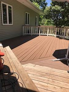 Home Depot Paint Color Chart Deck Sherwin Williams Superdeck Applied To Your Home