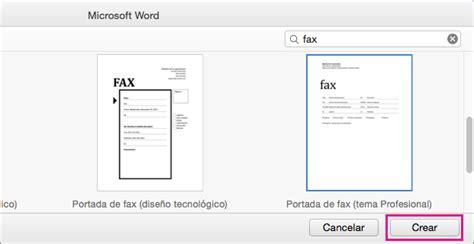 descargar templates office docs gratis mac hojas de fax crear una p 225 gina de portada de fax en