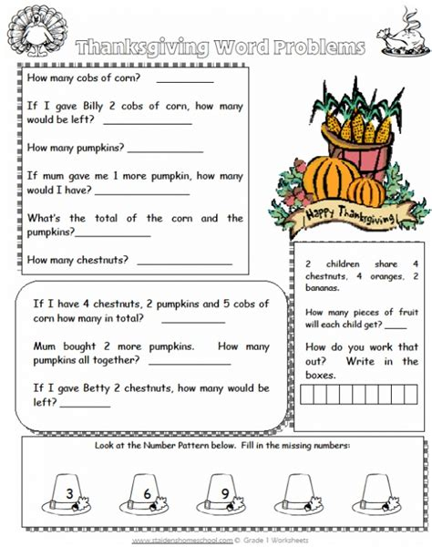 103 Best Thanksgiving Worksheets & Books Images On Pinterest  Thanksgiving Worksheets