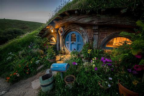 The Shire Really Does Exist… At The Hobbiton Movie Set In