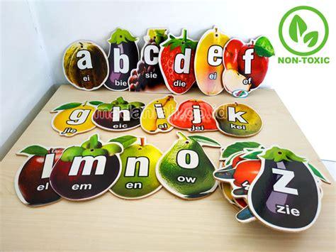 distributor alat peraga edukatif buah huruf abjad jakarta