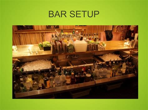 Bar Setup by Ten Things You Can Do To Make Your Bar More Money