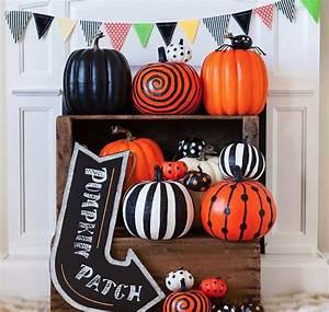 Painted, Pumpkin, Display