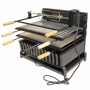 Barbecue A Poser : ez71550 grilloir a poser avec tournebroche grille et ~ Melissatoandfro.com Idées de Décoration