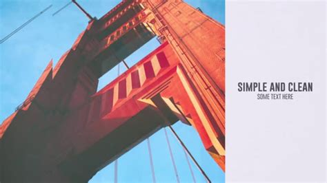 After Efects Universal Template by Simple Universal Slideshow After Effects Template On Vimeo