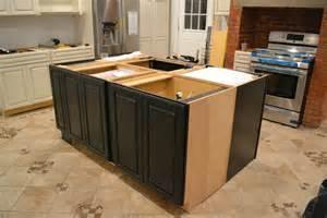 Kitchen Island Cabinet Installation