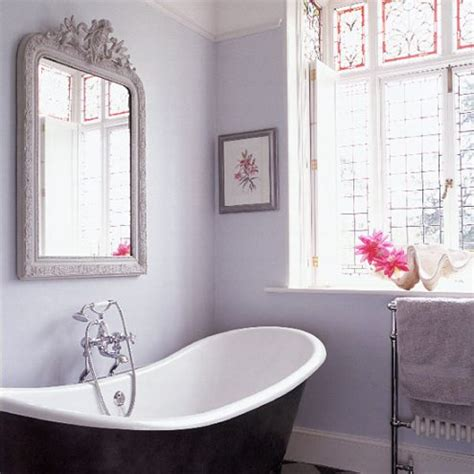 lilac bathroom decor once daily chic french inspired bathrooms