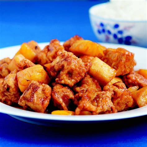 sweet and sour pork sweet and sour pork recipe epicurious com