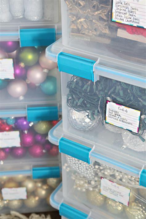 iheart organizing holiday decor storage organization tips