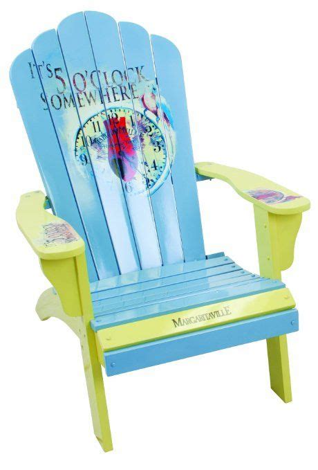 margaritaville adirondack chairs ebay margaritaville painted 5 o clock somewhere