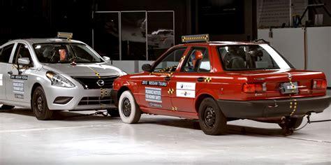 test crash siege auto car to car crash test forces nissan to stop production of