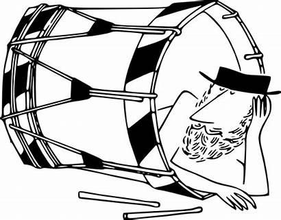 Drum Clip Basler Vector Sleeping Clipart Svg