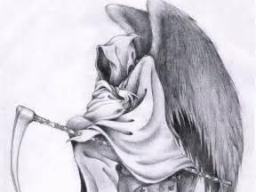 Death Grim Reaper Tattoo Drawings