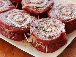 How To Make Grilled Stuffed Flank Steak Pinwheels
