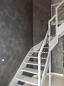 peinture mur escalier dootdadoocom idees de With nice couleur pour une cage d escalier 17 deco cage escalier 50 interieurs modernes et