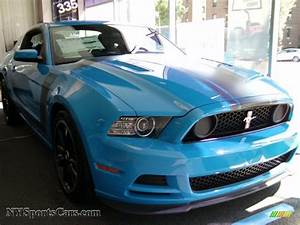 2013 Ford Mustang Boss 302 in Grabber Blue - 248596 | NYSportsCars.com - Cars for sale in New York