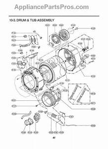 Parts For Lg Wm3431hs    Amseeus  Section 3 Parts