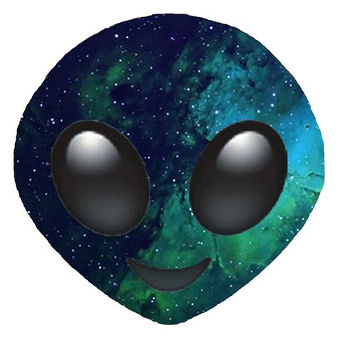 galaxy alien emoji  jnxgny redbubble