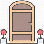 Door Icon Plan Floor Entrance Welcome Transparent