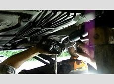 Changing the center bearing and guibo joint on a BMW 330