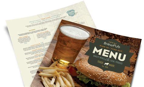 restaurant menu templates menu designs food menus