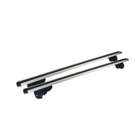 2 barres de toit compl 232 tes mont blanc activa aero 1250 en aluminium norauto fr