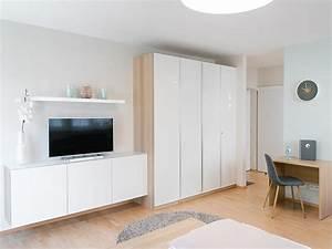 1 Zimmer Wohnung Einrichten Bilder : einzimmerwohnung einrichten 5 ideen und inspirierende bilder ~ Bigdaddyawards.com Haus und Dekorationen