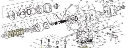 4t45e Automatic Transaxle Diagram by Ford Transmission Schematic Diagram Part List